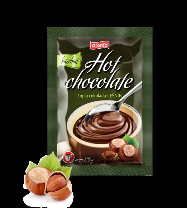 topla cokolada lešnik